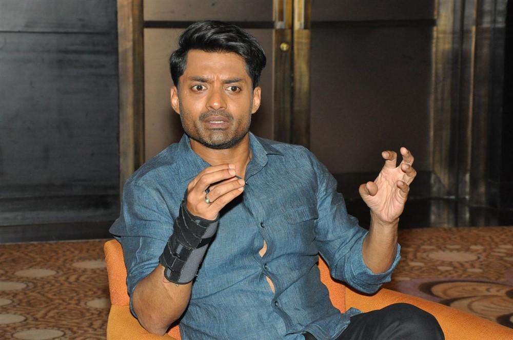 Actor Nandamuri Kalyan Ram Images @ MLA Movie Promotions