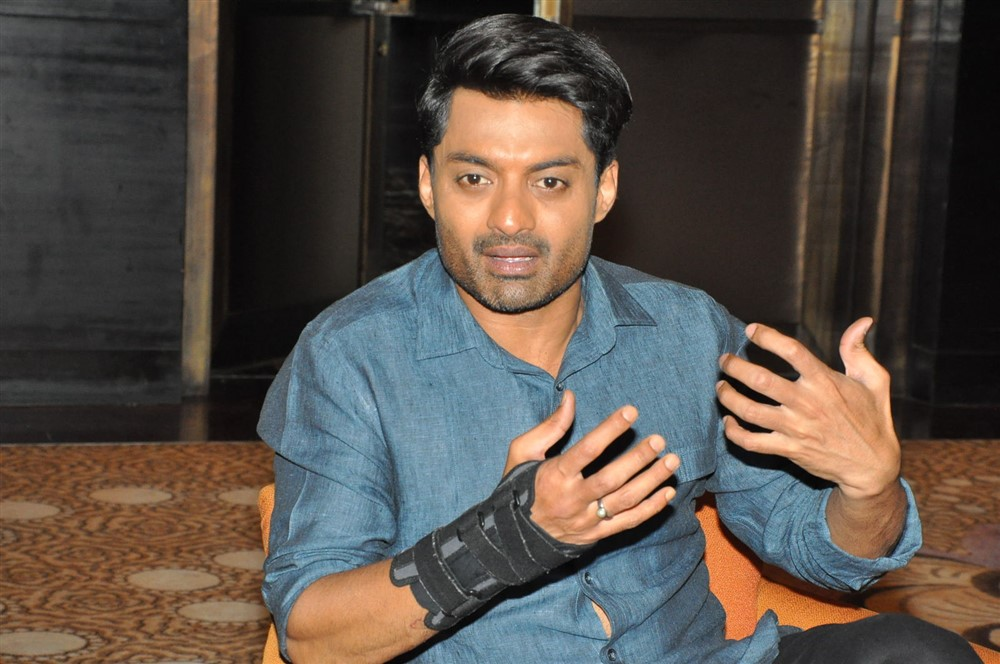 Actor Nandamuri Kalyan Ram Images @ MLA Movie Promotions