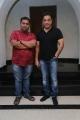 CV Kumar @ Kalyana Samayal Saadham Team meet Kamal Haasan Photos