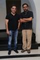 RS Prasanna @ Kalyana Samayal Saadham Team meet Kamal Haasan Photos