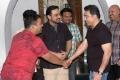 Producer CV KUmar welcomes Kamal Haasan Photos