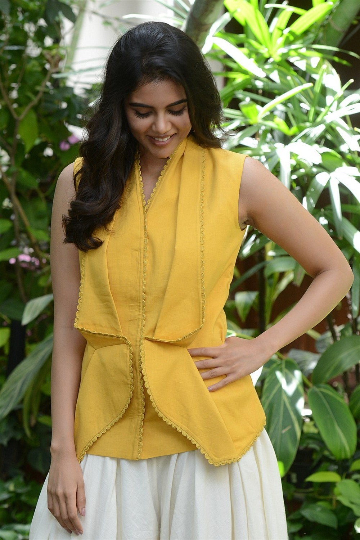 Actress Kalyani Priyadarshan Pics @ Ranarangam Movie Interview