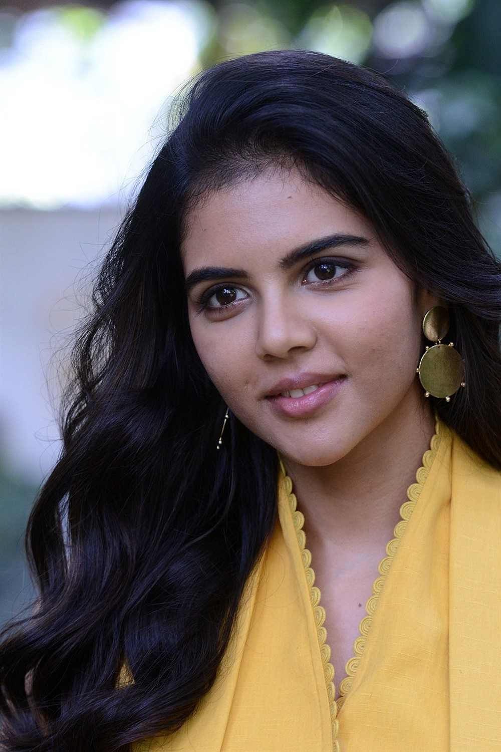 Ranarangam Movie Actress Kalyani Priyadarshan Interview Pics
