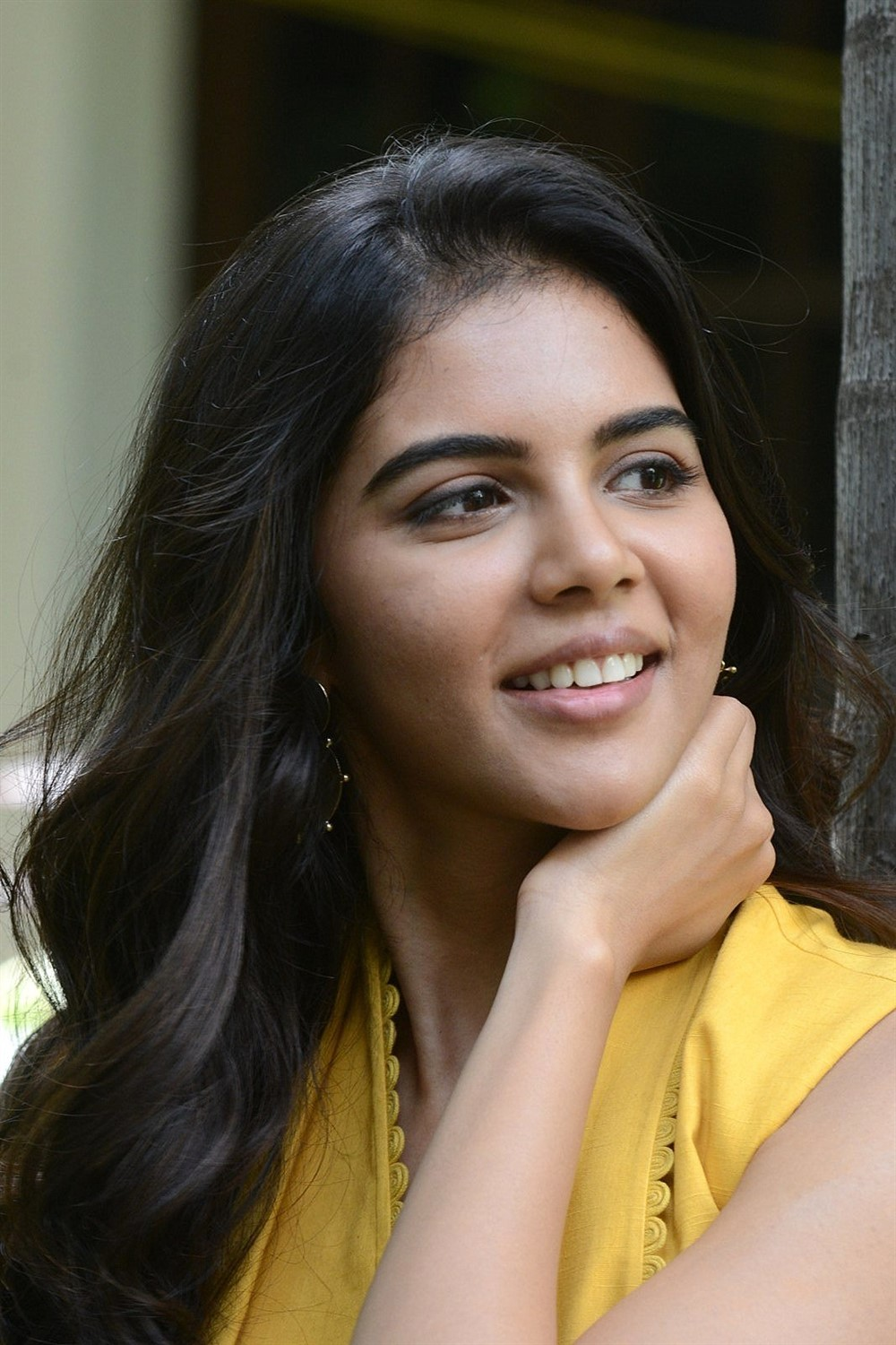 Ranarangam Movie Heroine Kalyani Priyadarshan Interview Pics