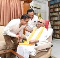 Kamal Haasan's meeting with DMK Chief M Karunanidhi and MK Stalin