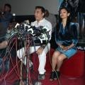 Kamal Haasan & Pooja Kumar at the Vishwaroopam Press conference
