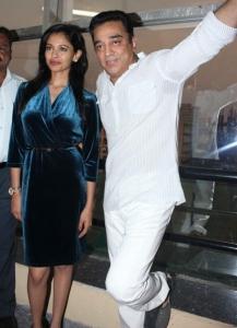 Pooja Kumar, Kamal Haasan Press Conference on Vishwaroopam Photos