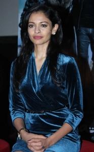 Actress Pooja Kumar at Vishwaroop Press Conference in Mumbai