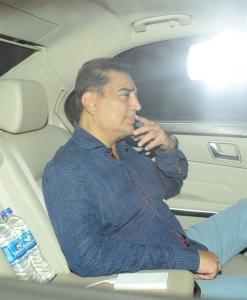 Kamal Haasan visited Anil Kapoor House for Sridevi Death Condolences