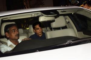 Kamal Hassan visited Anil Kapoor House for Sridevi Death Condolences