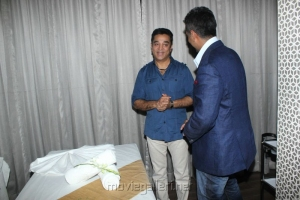 Kamal Hassan, Vikram Mohan @  4th Bounce Style Lounge Photos