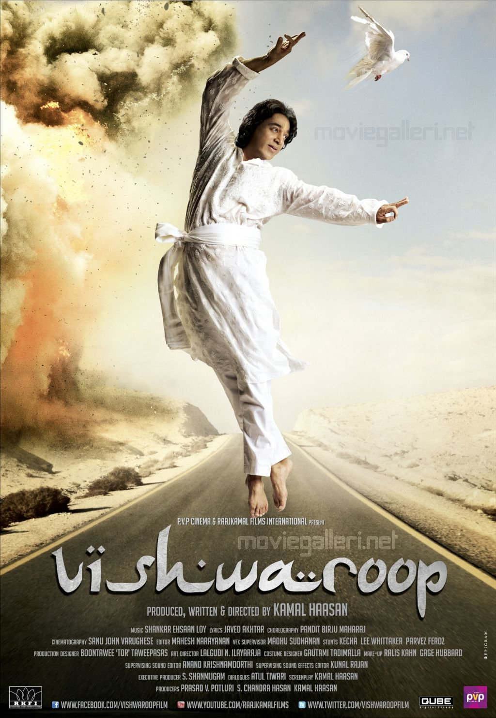 Kamal Hassan Vishwaroop Movie Posters