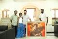 Kamal Hassan with Vishwaroopam Painting Photos