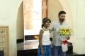 Kamal Hassan with Vishwaroopam 100days Painting Photos