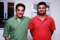 Kamal Haasan with Director Venkatesh of OKOK Team