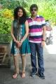 Kamalakar, Kamna Jethmalani at Band Balu Telugu Movie Launch Stills
