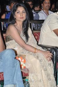 Kamalini Mukherjee Saree Photos at Sri Jagadguru Adi Shankara Audio Release