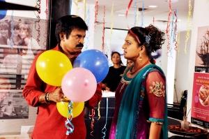 Brahmaji, Roja in Kameena Telugu Movie Photos
