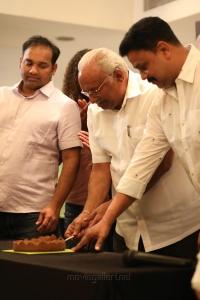 Producer Gokulam Gopalan @ Kammara Sambhavam Movie Premiere Show Photos