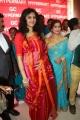 Actress Kamna Jethmalani Hot Transparent Red Saree Photos