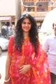 Actress Kamna Jethmalani Hot Red Saree Photos