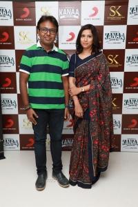 D Imman wife Monica Richard @ Kanaa Audio Launch Stills HD