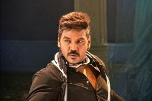 Actor Raghava Lawrence in Kanchana 2 Tamil Movie Stills