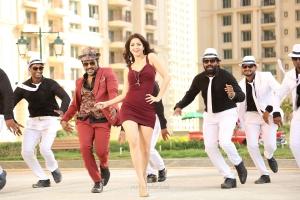 Raghava Lawrence, Vedhika in Kanchana 3 Movie New Pics HD