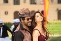 Raghava Lawrence, Vedhika in Kanchana 3 Muni 4 Movie Stills HD