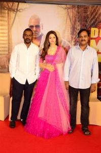 Raghava Lawrence, Vedhika, Tagore Madhu @ Kanchana 3 Movie Success Meet Photos