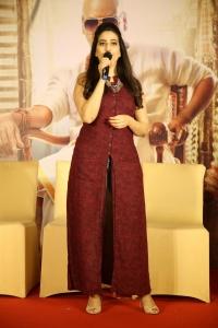Anchor Manjusha @ Kanchana 3 Movie Success Meet Photos