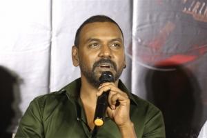 Actor Raghava Lawrence @ Kanchana 3 Movie Trailer Launch Stills