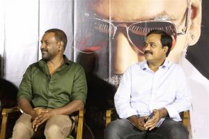 Raghava Lawrence, Tagore Madhu @ Kanchana 3 Movie Trailer Launch Stills