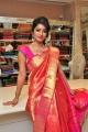 Vaibhavi at Kancheevaram Collection Display at Srinivasa Textiles, Hyderabad