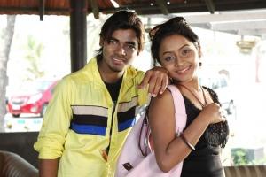 Vishal, Prithiksha Mythili in Kandanam Movie Hot Photos