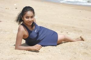 Prithiksha Mythili in Kandanam Movie Hot Photos
