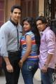 Kathik Kattac, Kamali, Vishal at Kandanam Tamil Movie Launch Photos