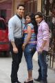 Kathik Kattac, Kamali, Vishal at Kandanam Movie Launch Photos