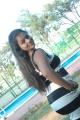 Tamil Actress Kamali at Kandanam Movie Shooting Spot Photos
