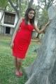 Tamil Actress Prithiksha Mythili at Kandanam Movie Shooting Spot Photos