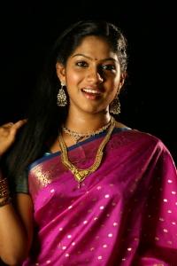 Tamil Actress Swasika in Saree Stills