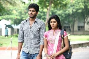 Vikas, Swasika in Kandathum Kanathathum Movie Stills