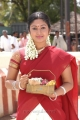 Mithra Kurian in Saree @ Kandha Movie Stills