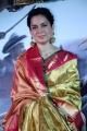 Manikarnika Heroine Kangana Ranaut Silk Saree Stills