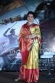 Actress Kangana Ranaut Silk Saree Stills @ Manikarnika Press Meet