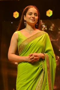Actress Kangana Ranaut Pictures @ Thalaivi Pre Release Event
