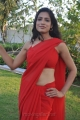 Tamil Actress Kanishka Soni in Red Saree Hot Photos