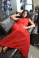 Kanishka Soni Hot Photos in Red Saree from Pathayeram Kodi