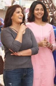 Varalaxmi, Subhiksha in Kannitheevu Movie Photos