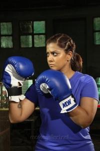 Actress Varalakshmi Sarathkumar in Kannitheevu Movie Photos